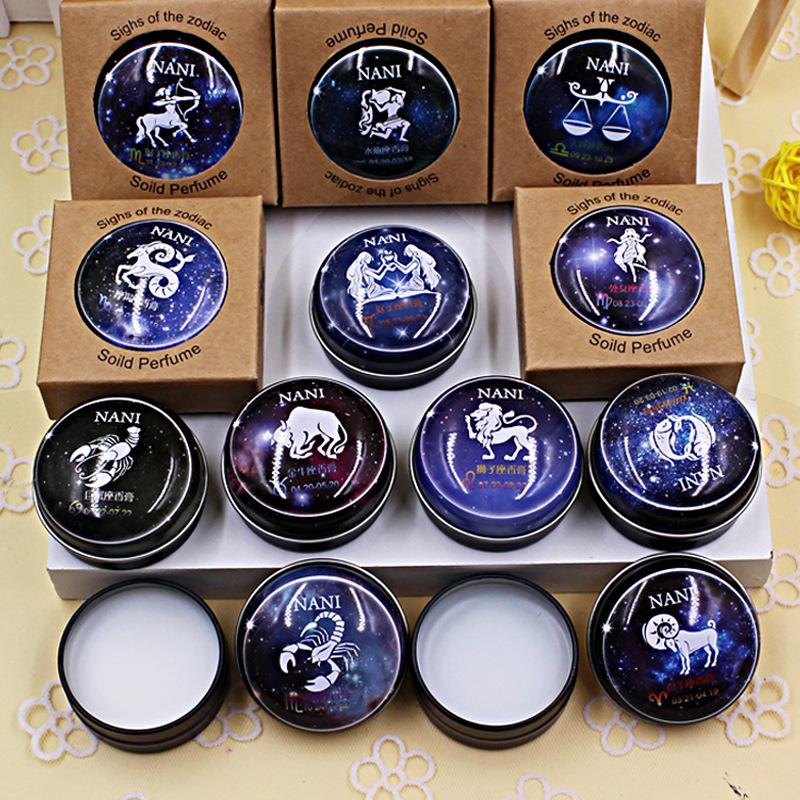 Free shipping virgo Elegant light fragrance top Violet solid perfume 15g 12 kinds for choose original brand fragrance women men(China (Mainland))