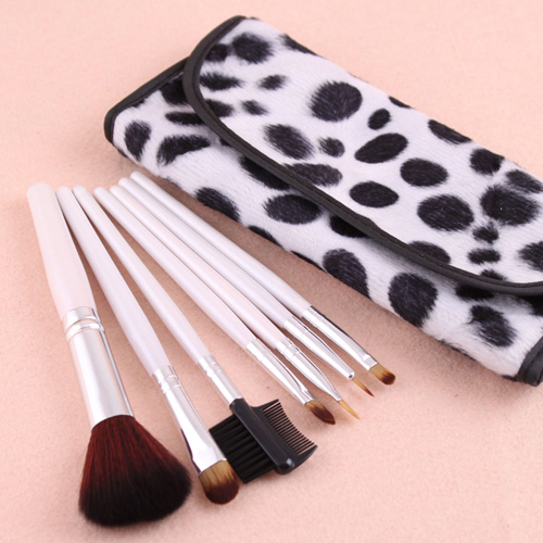 7 PCS Professional Pincel Maquiagem Makeup Brush Facial Care Facial Beauty Cosmetic Brushes Set With Case #23161(China (Mainland))