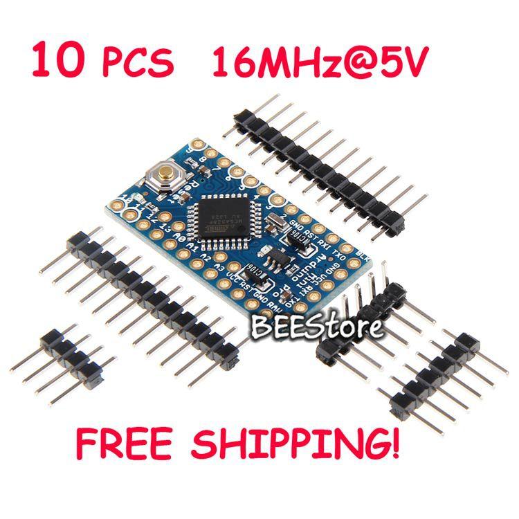1 Atmega328 5v 16MHz Pro Mini Module16M Arduino Compatible nano uno - BEEStore store