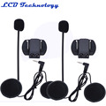 2PC LOT V6 Accessories Earphone Speaker Clip Bracket only Suit For V6 1200 Interphone 3 5mm
