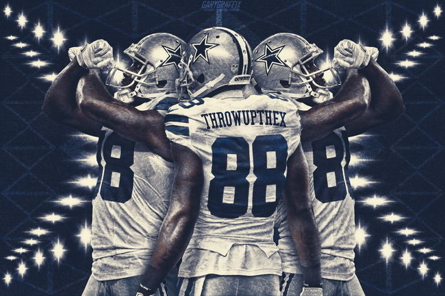 "221 Dez Bryant - Desmond Demond Bryant NFL Dallas Cowboys 36""x24"" Poster RF158(China (Mainland))"