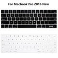 New Silicone US English Keyboard Skin Cover For For Macbook Pro 13 15 2016 Laptop Notebook