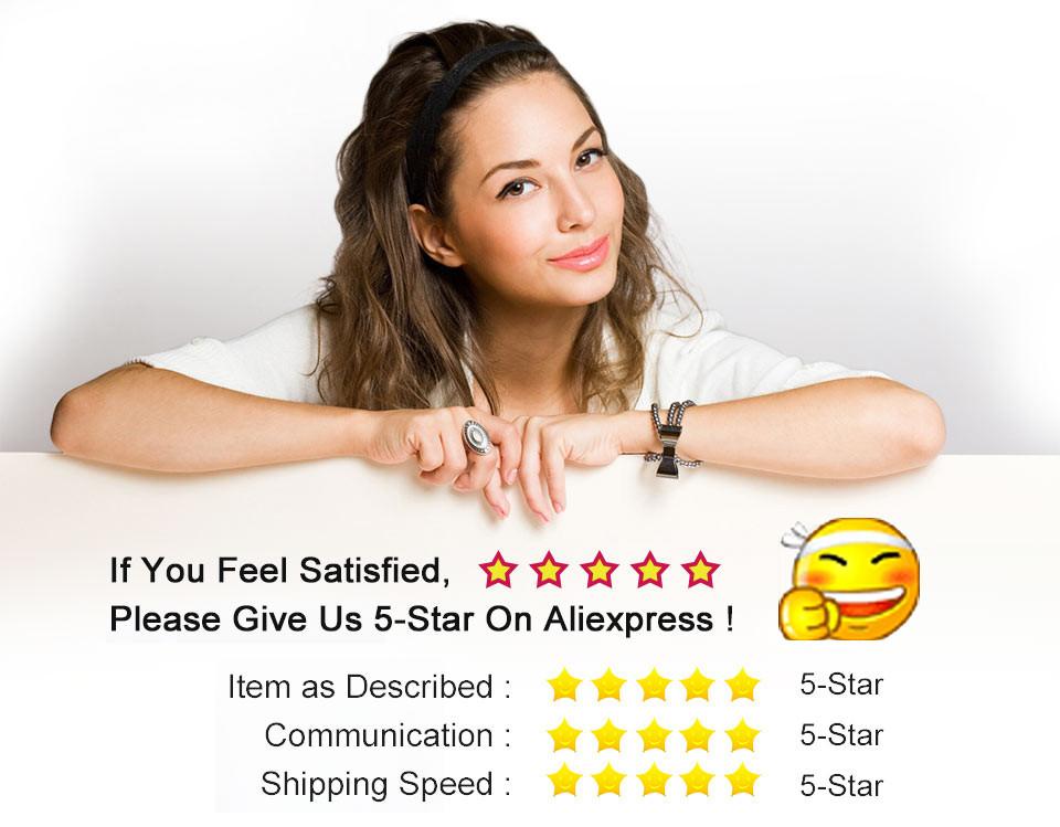 5-stars feedback