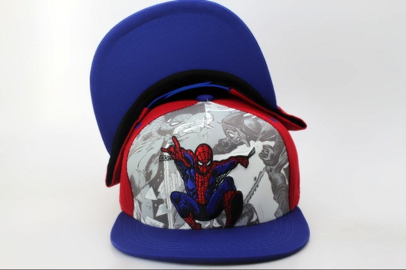 2106 SpiderMan Kids Baby Boys Girls Snapback Hats adjustable sports Casquettes chapeu Baseball Caps Children youth 3-12 Years(China (Mainland))