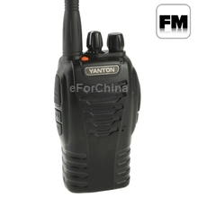 T 666 Handheld Walkie Talkie with FM Radio Support 16 channels Scan Channel and Monitor Function