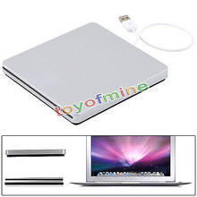 Di alta qualità usb slot esterno in cd rw burner superdrive per apple macbook air pro laptop notebook pc(China (Mainland))