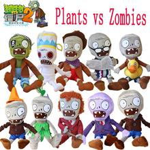 Buy Hot 30cm Plants vs Zombies Plush Toys Kawaii Plush Plants vs Zombie Stuffed Toys Doll Children Kids Toys Birthday Gift for $4.25 in AliExpress store
