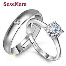 Формы сердца Стерлингового Серебра 925 ювелирные изделия Кольца bague AAA CZ обручальное кольцо Обручальные Кольца для женщин bijoux 47 анель anillos mujer(China (Mainland))