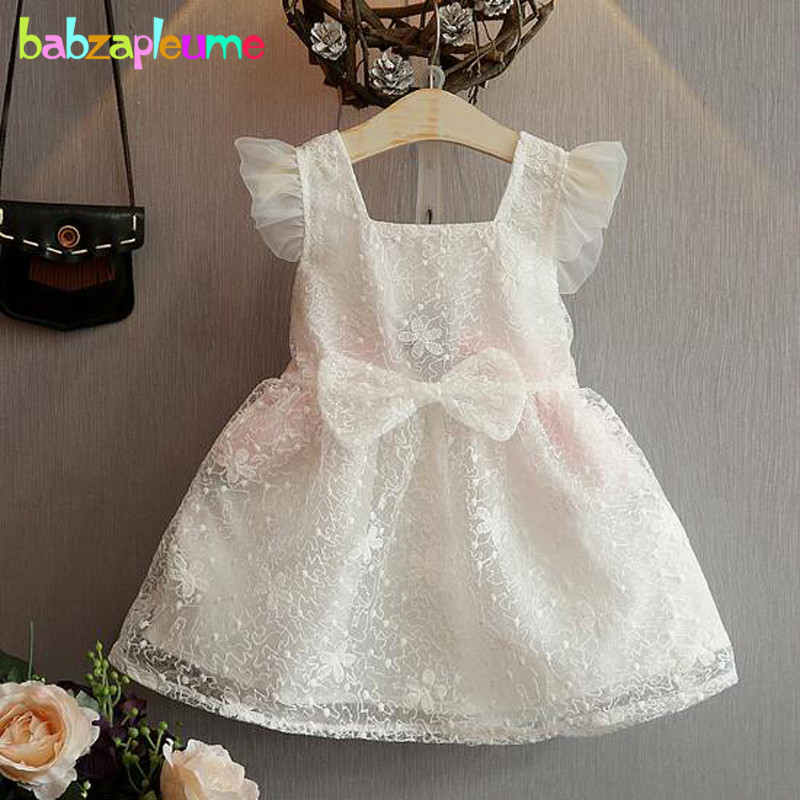 0-7Years/Summer Korean Kids Clothing Children Party Wedding Dress Baby Girls Clothes Cute Lace Princess Toddler Dresses BC1325(China (Mainland))