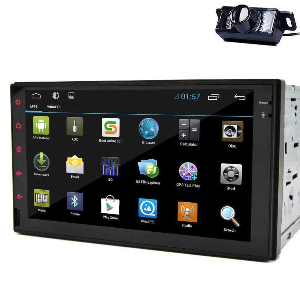 100% Android 4.2 double 2 din Car PC Tablet Stereo GPS Navigation In dash Car None-DVD Radio mp3 Player Bluetooth iPod USB Wifi(China (Mainland))