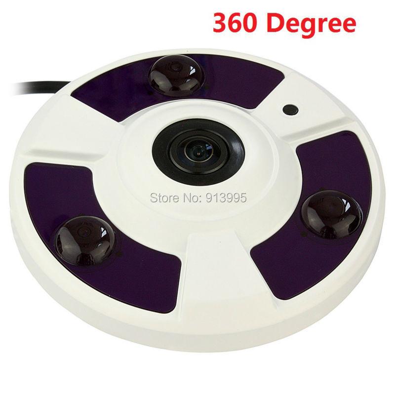 360/ 180 Degree Panoramic view HD 5MP Megapixel security IP Camera Indoor Network P2P CCTV Security Camera