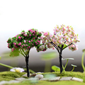 Mini Tree Plants Miniature Fairy House Dollhouse Garden DIY Micro Bonsai Decor Y102