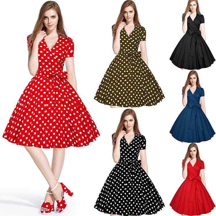 Ретро платья 60