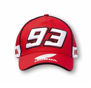 2015  100% cotton  baseball red honda 93 caps F1 racing car  motorycycle sun cap gorras bone hat
