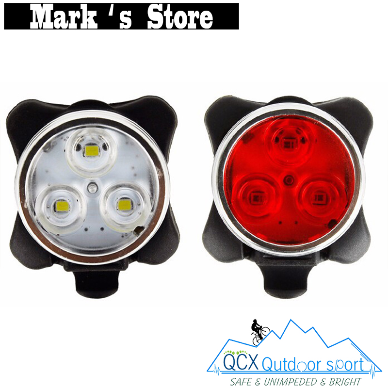 Usb Rechargeable Bike Front Light Head Flash Torch Night