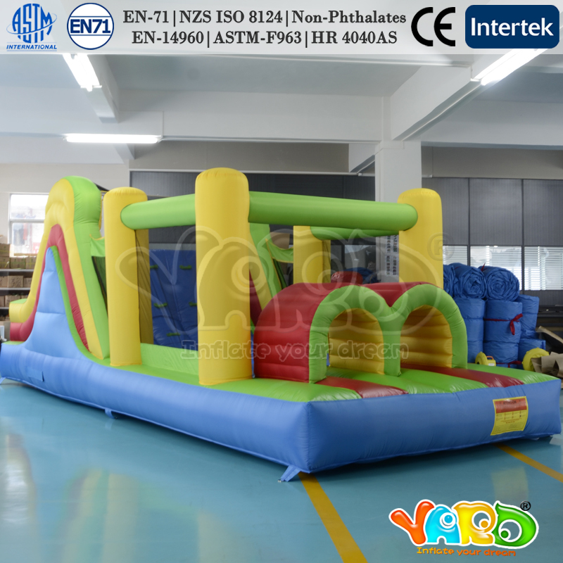 Hot selling inflatable obstacle course moonwalk bouncy jumper for birthday party(China (Mainland))