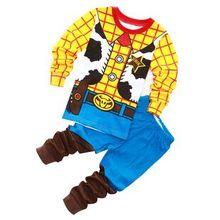 Buy Children sleepwear kids superman batman spiderman pajamas baby boys girls animal pijamas children cotton pyjamas 2-7Yrs for $6.98 in AliExpress store