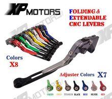 CNC Adjustable Folding & Extending Brake Clutch Lever Buell Ulysses XB12XT XB12X 2009 XB12 2004-2008 XB9 Models 03-09 - A&M Kebull's Parts store
