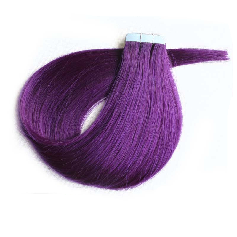 Purple Hair Extensions Cheap Best Clip In Hair Extensions