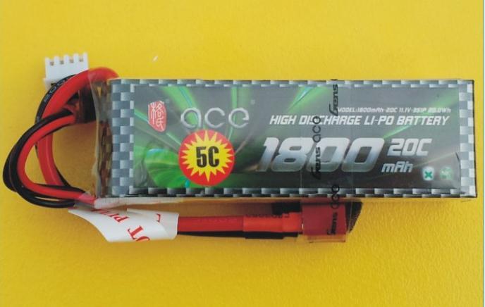 Fast charging send magic ACE 11.1V 1800mAh format Grignard 20C lithium battery 5C(China (Mainland))