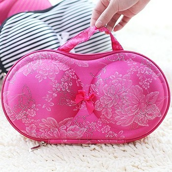 New creative Bra style storage bag for bra underwear and sock free shipping