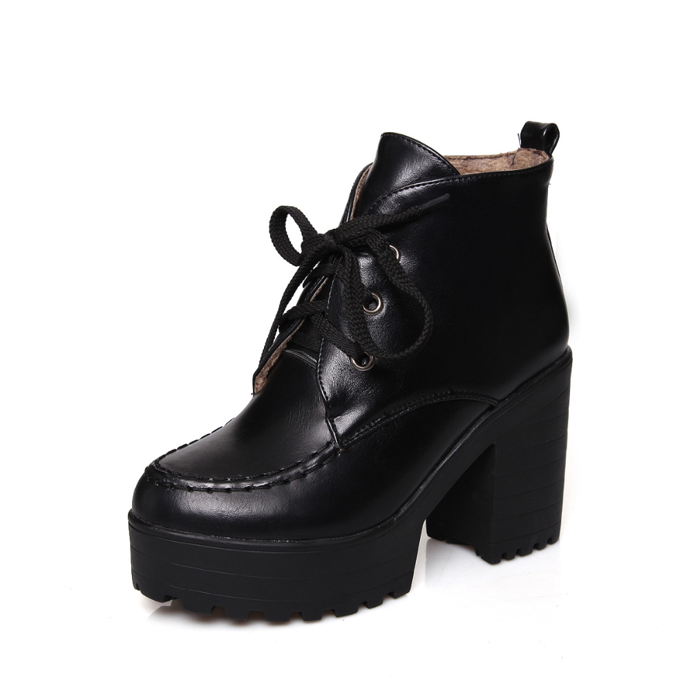 high heel lace up shoes is heel