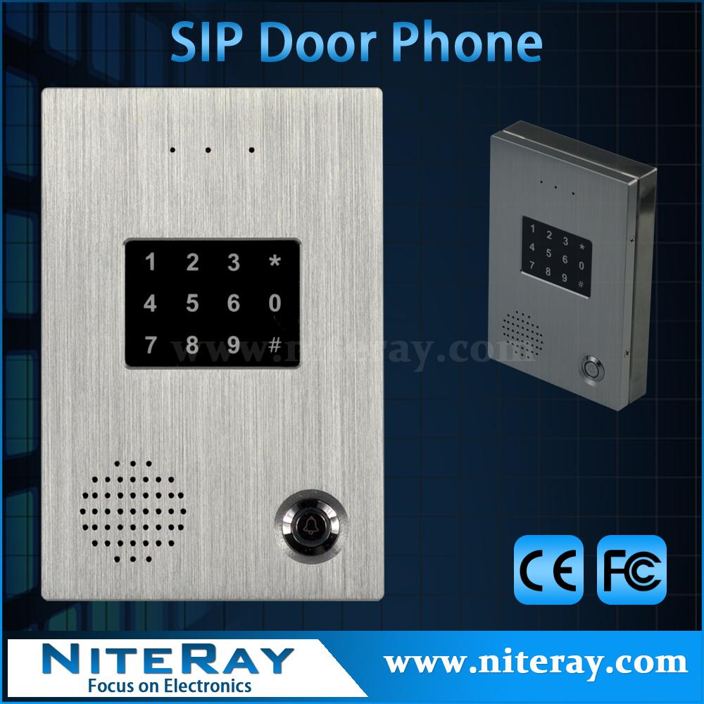 Smart audio doorbell intercom sip ip door phone for office/villa/home security Q516(China (Mainland))