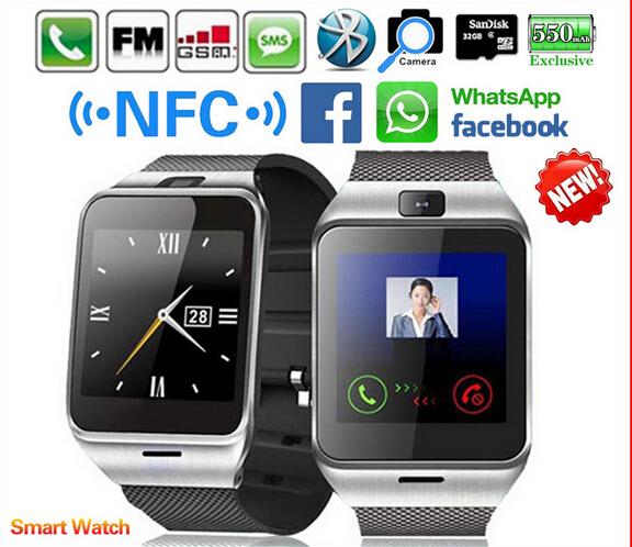 Waterproof GV18 Plus Smart watch phone NFC Camera wrist Watch SIM card Smartwatch for Samsung Android Phone PK DZ09 GT08 Q18(China (Mainland))