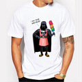 Camisetas Hombre 2016 Simple Black Print T-shirt Stormtrooper Design Short Sleeve Tee Shirt Homme Men's Funny Harajuku Tshirt