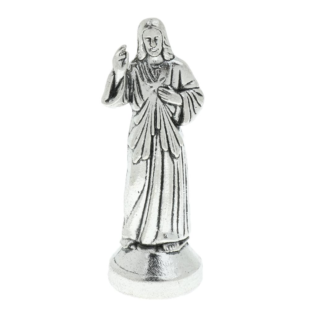 Mini Jesus Holy Religious Figurine Magnetic Decoration Statue Home Decore Figurine Holy Religious Statues