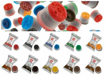 20 capsules coffee illy a variety of flavor capsule X7 1 Y1 1 Y3 Y5 machine