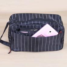 2015 New Men Makeup Bag New Nylon Men Travel Bags Men Organizer Bag Makeup Male Toiletries