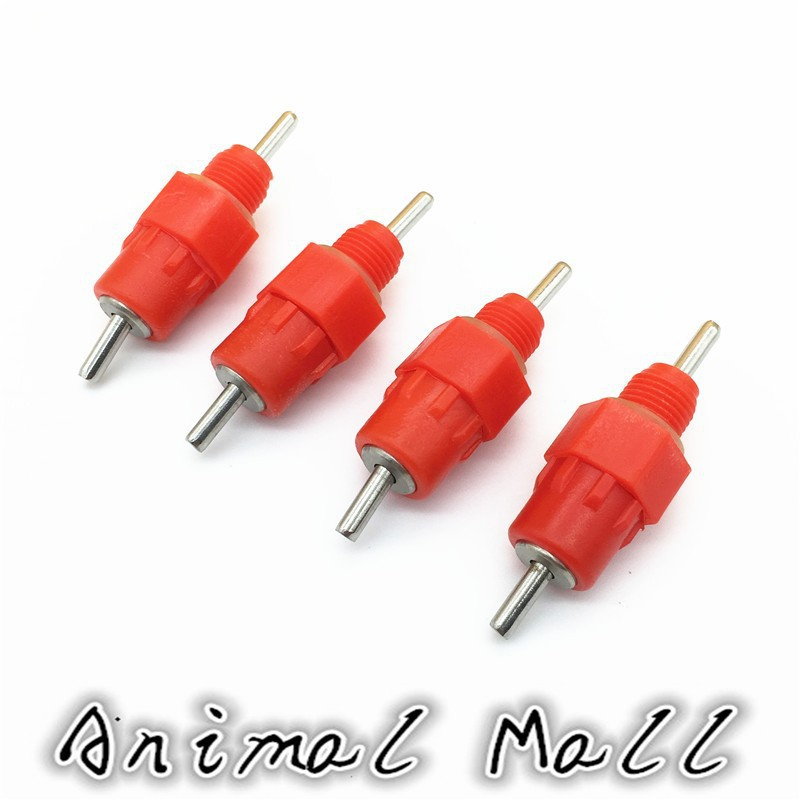 150 pcs 8 mm Chicken Ball drinking Automatic drinking red Chicken Waterer Stainless steel Nipple Hot models(China (Mainland))