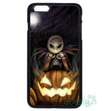 Fit for iPhone 4 4s 5 5s 5c se 6 6s 7 plus ipod touch 4/5/6 back skins cellphone case cover Nightmare Before Christmas Pumpkin