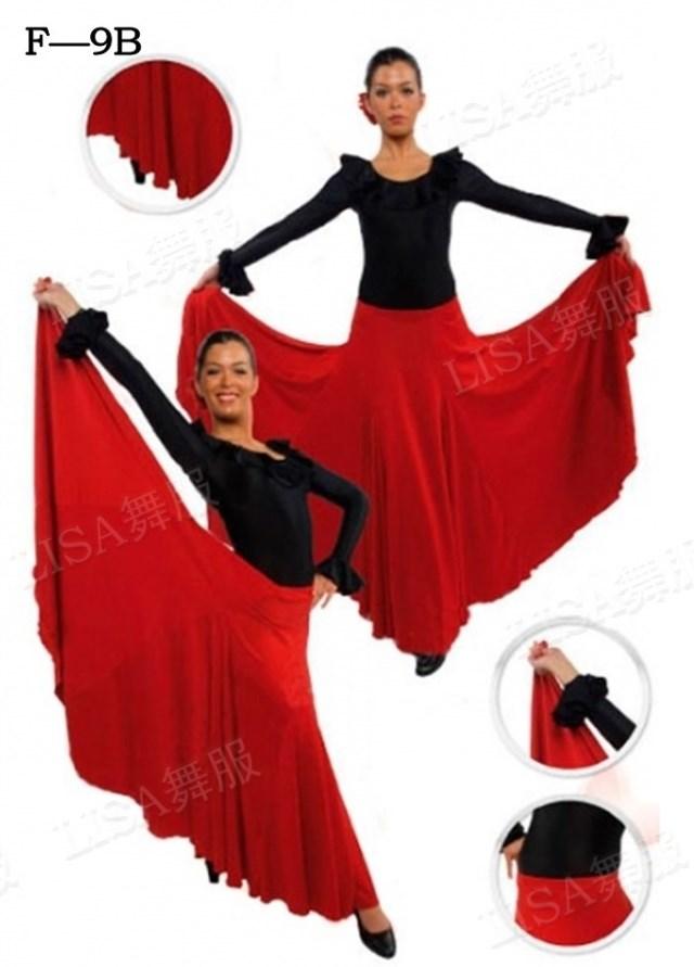 Women Flamengo 2017/2017 Dress Skirt Lady Spanish Flamenco Dance Dress Skirts Flamenco Dance Costumes For Women Vestido Flamenca