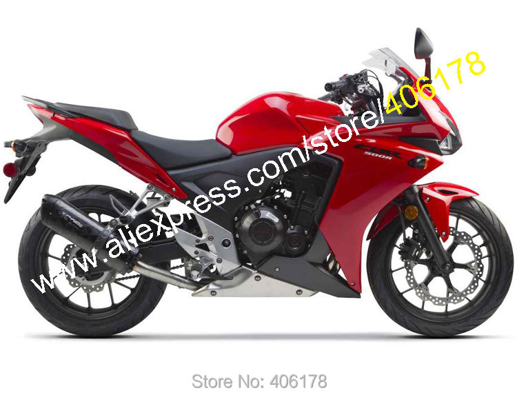 Hot Sales,Cheap For Honda CBR500R 2013 2014 CBR 500R 13 14 CBR Red Bodyworks ABS Motorcycle Fairings kit (Injection molding)(China (Mainland))