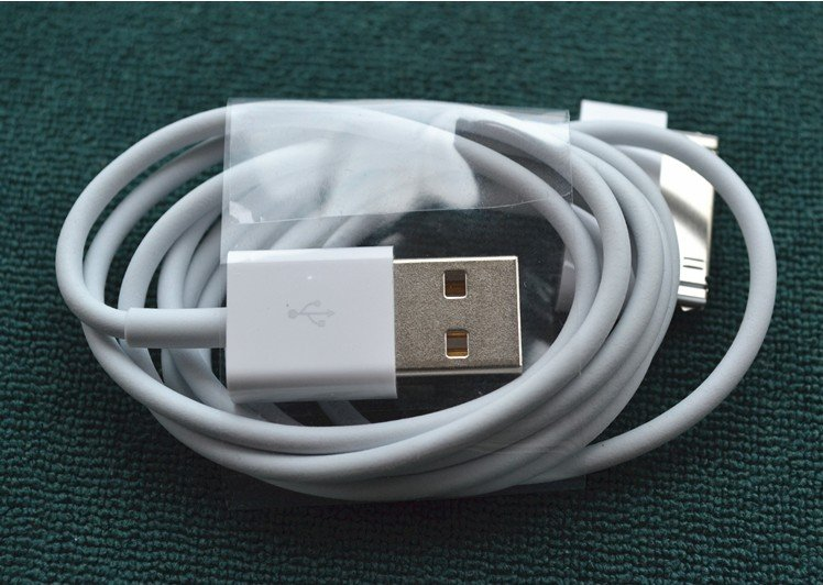 Free Shipping USB Data Sync Charger Cable-Cord for iPod Touch iPhone 4 4s ipad 2 3 ipod