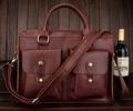 New 2015 High Class Italian Leather Messenger Bag Men Shoulder Bag Men s Briefcase Genuine Leather