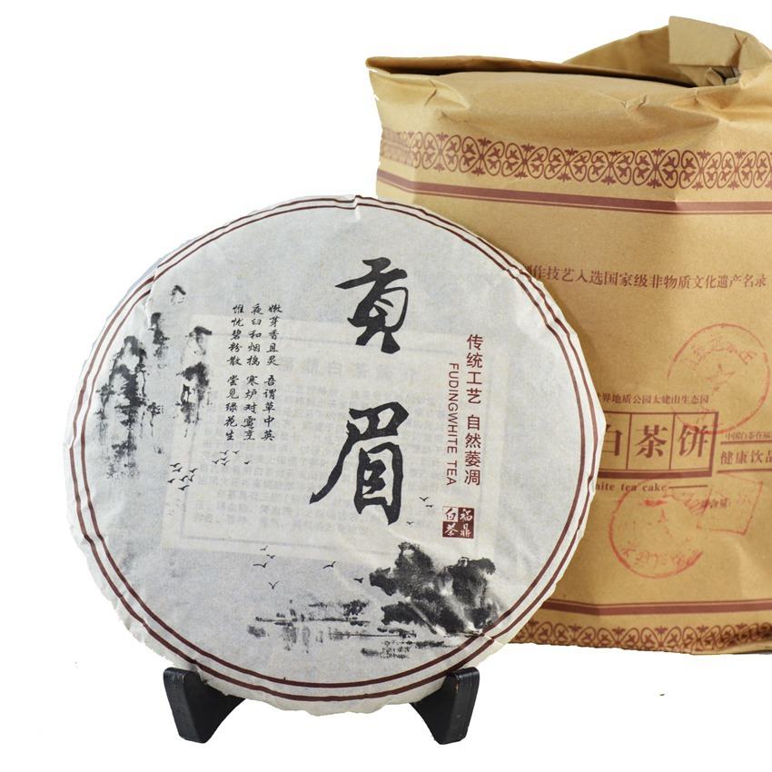 Гаджет  2007 years Aged Organic White Tea 357g Shou Mei Tea Fuding Gong Mei anti-cancer Lao Bai Cha white the Chinese Health Product Tee None Еда
