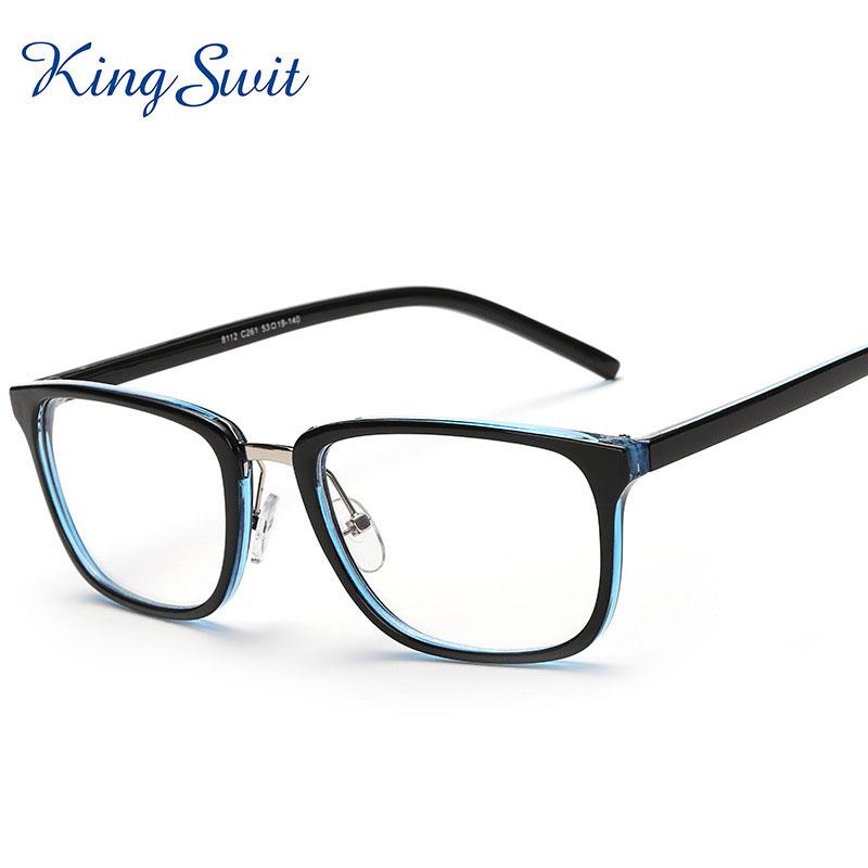 kingswit 2016 brand designer rectangle eyeglasses