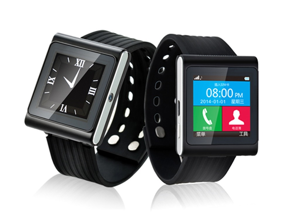 Powerful Dial/Answer Phone Calls Anti-lost Pedometer Altimeter Smart Bluetooth Watch For Android Phone(China (Mainland))