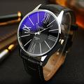 Luxury YAZOLE Leather Watches Men Waterproof Fashion Casual Sports Quartz Watch Dress Business Wrist Watch Hour