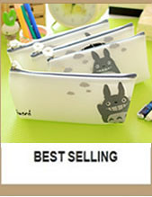 Cartoon Giraffe Office School Supplies Escolar Large Capacity Canvas Pencil Bag Unique Design Multifunctional Zipper Stationery