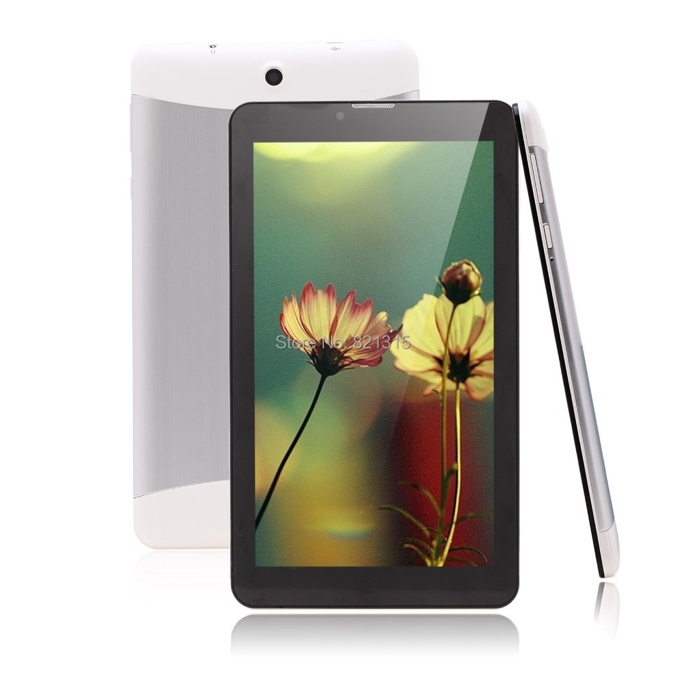 7 inch Tablet PC 3G Phablet GSM WCDMA MTK6572 Dual Core 4GB Android 4 2 Dual
