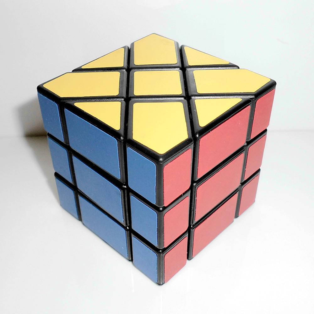 Yongjun Moyu Square King Fisher Magic Cube 3x3x3 Speed Puzzle Skew Cubes Educational Toys Kids Toy Birthday Gift(China (Mainland))