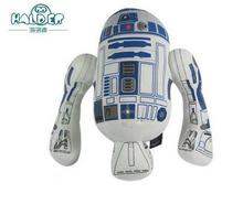 """Free Delivery star wars r2d2 robot plush doll doll 7 """"star wars"""" original animation and toys(China (Mainland))"""