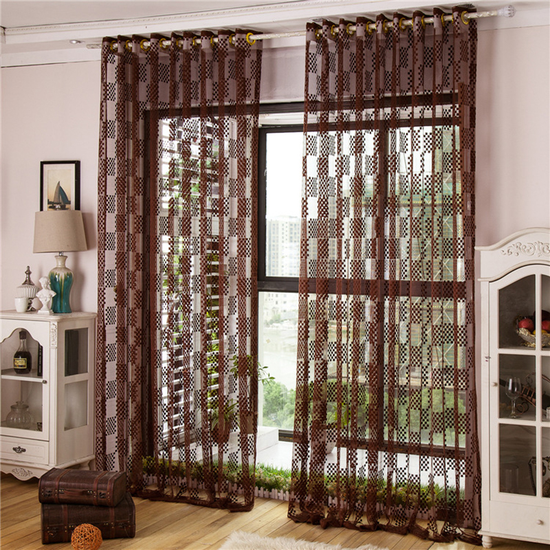 Buy modern style fashion design tulle for Window treatment manufacturers