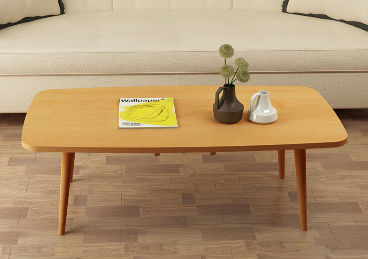 Legs foldable coffee table for living room furniture 4 - Wooden center table for living room ...