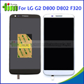 White Black for LG Optimus G2 D800 D802 D805 F320 LCD Display and Touch Screen Digitizer