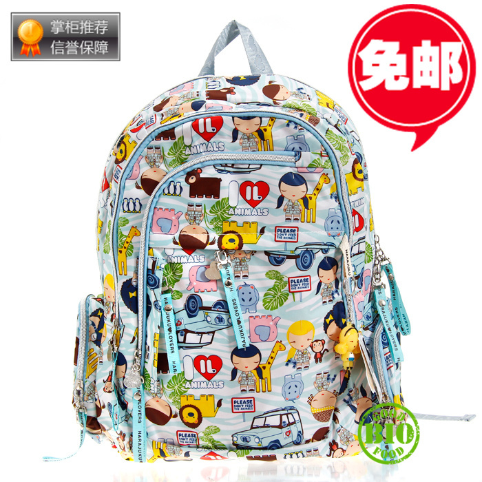 HARAJUKU doll backpack mm bag female student computer school - Brand discount store- store